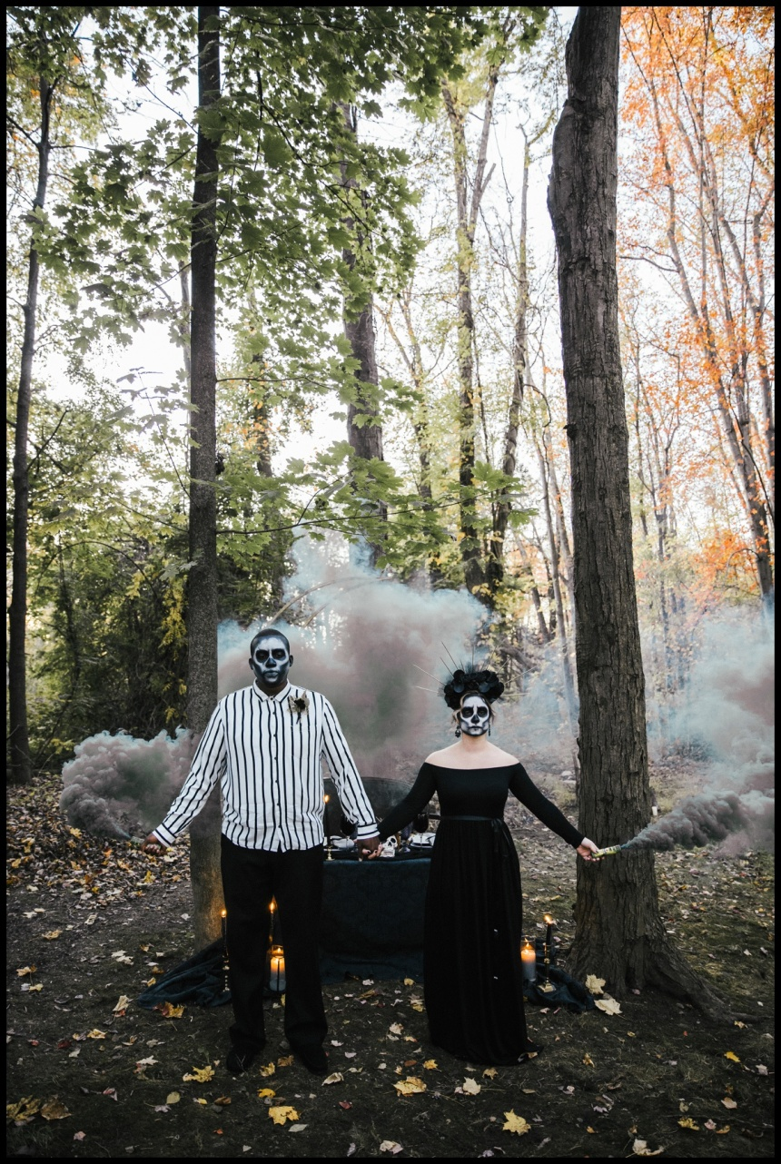 Halloween Styled Photoshoot by Ivona Kaplan